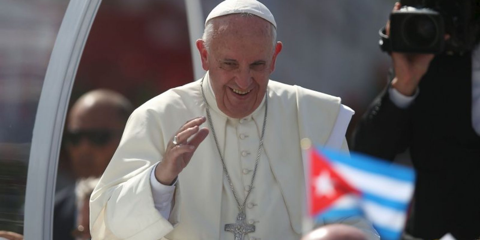 Así han recibido al Sumo Pontífice en el país Foto:Getty Images