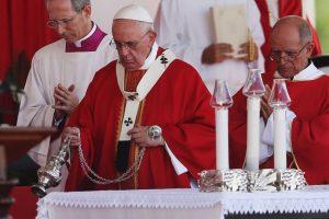 Y para concluir sus actividades de este día, realizará una oración a la Señora de la Caridad Foto:Getty Images