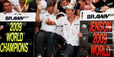 En 2009 se coronó campeón del mundo con Brawn-Mercedes. Foto:Getty Images
