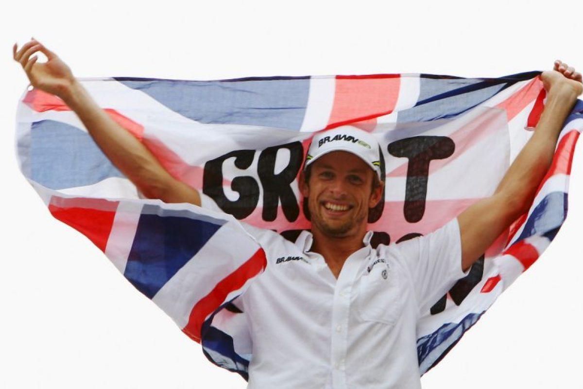 También corrió para Benetton-Renault, Renault, BAR-Honda, Honda y Brawn-Mercedes. Foto:Getty Images