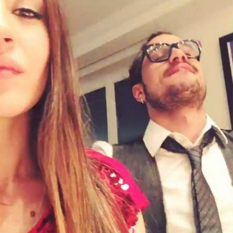 2. Pablo Daniel Osvaldo y Jimena Baron Foto:Vía instagram.com/danistone_25