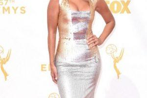 Liz Hernandez como Miss Universo venezolana de los 80. Foto:vía Getty Images