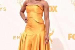 June Ambrose mandó a alquilar su vestido, es un hecho. Foto:vía Getty Images