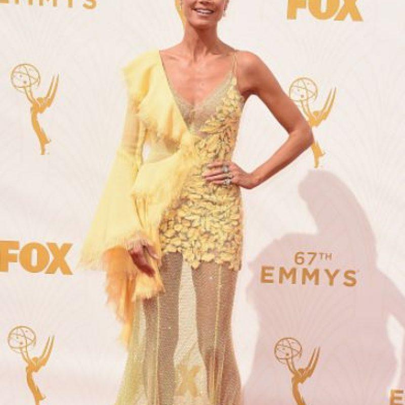"""Heidi Klum parece salida de """"Deslizando la Gloria"""". Foto:vía Getty Images"""