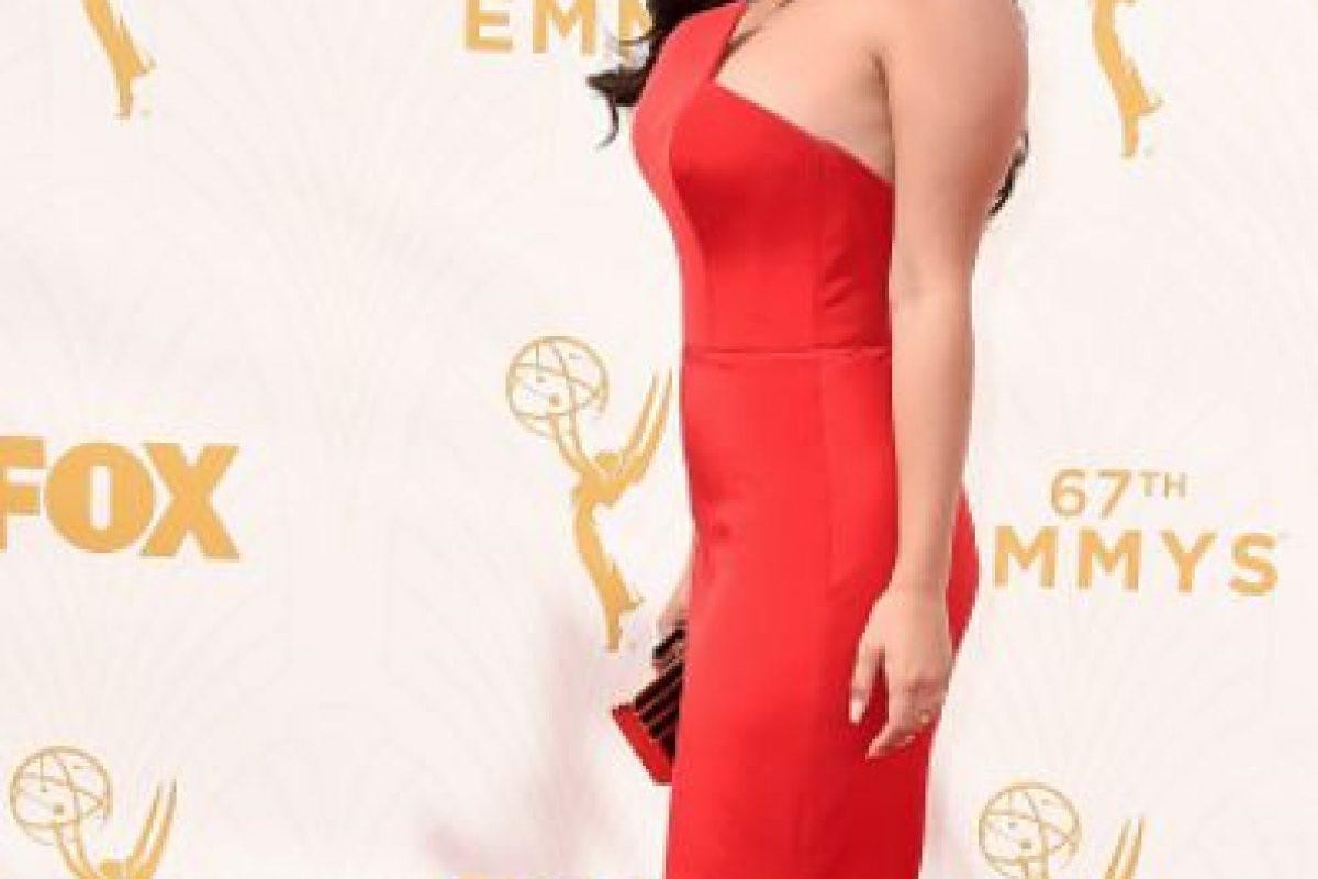 """Ariel Winter, yendo como """"Jessica Rabbit en el prom"""". Foto:vía Getty Images"""