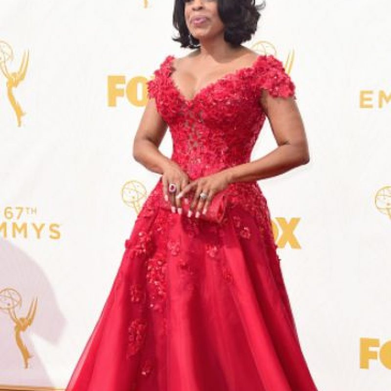 Niecy Nash, como madre en el matrimonio de su hija. Foto: vía Getty Images
