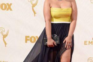 Dasha Polanco vuelve a arruinarlo. ¿Qué nadie le muestra fotos de Christina Hendricks? Foto:vía Getty Images