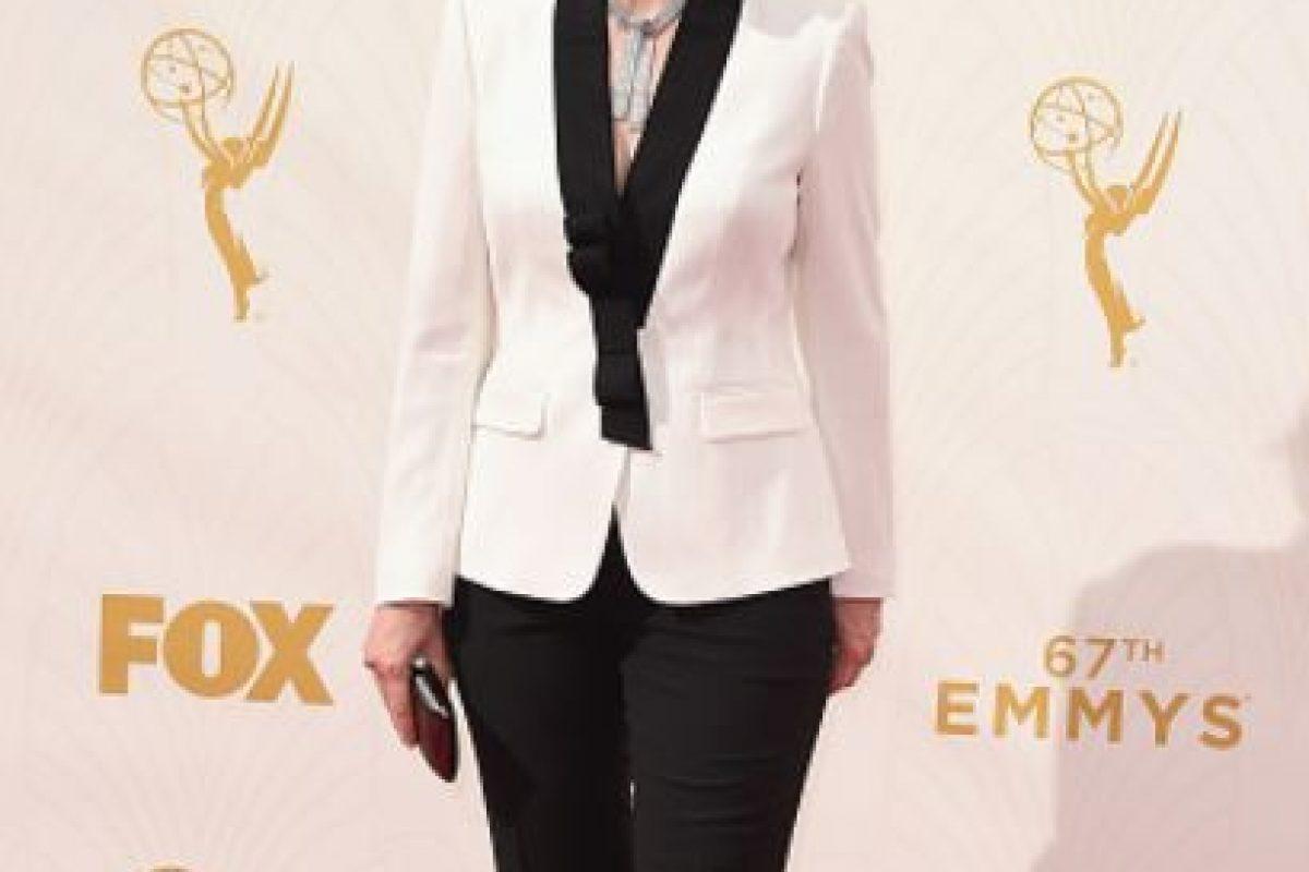 Jane Lynch como Harry Styles a los 50 años en la alfombra roja. Foto:vía Getty Images