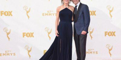 Felicity Huffmann parece camarera que se puso el vestido y se fue al evento. Foto:vía Getty Images