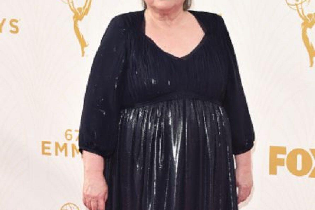 Kathy Bates, te amamos, pero lo brillante así no te queda. Era al revés. Foto:vía Getty Images