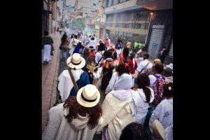 También se hicieron caminatas a favor de la paz. Foto:Vía Twitter @cantoalagua