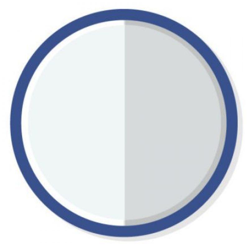Ideado por Milton Glaser, se trata de una manera de expresar un reconocimiento neutral, similar al típico vaso medio lleno o medio vacío Foto:vía Wired