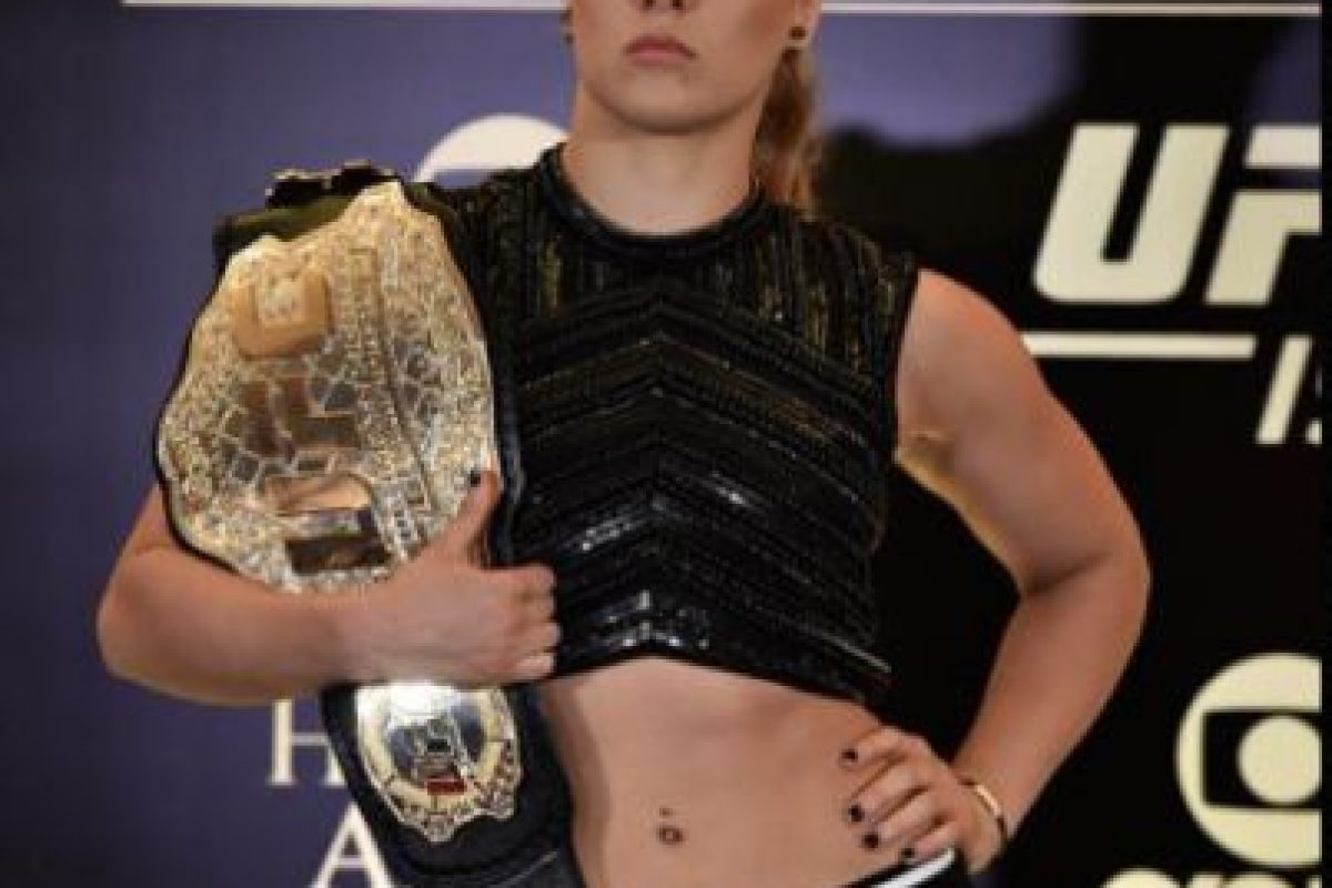 No conoce la derrota en 12 peleas Foto:Getty Images