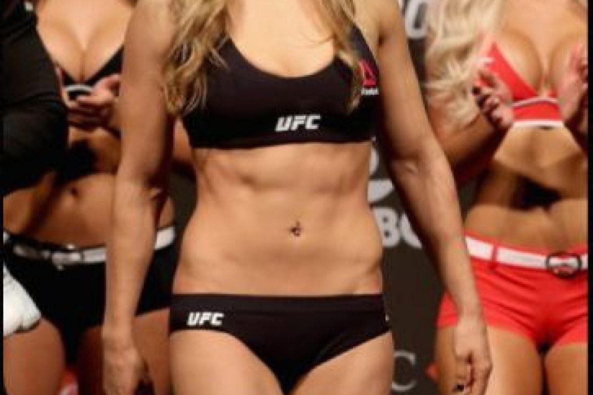 Es la Campeona de Peso Gallo de Mujeres de la UFC Foto:Getty Images