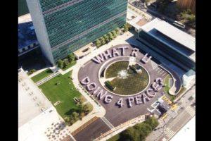 En la oficina principal de la ONU en Nueva York. Foto:Vía Twitter @UN