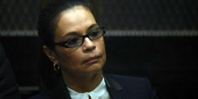 Nuevo revés para Baldetti, solicitan a juez que no sea trasladada a hospital de la PNC