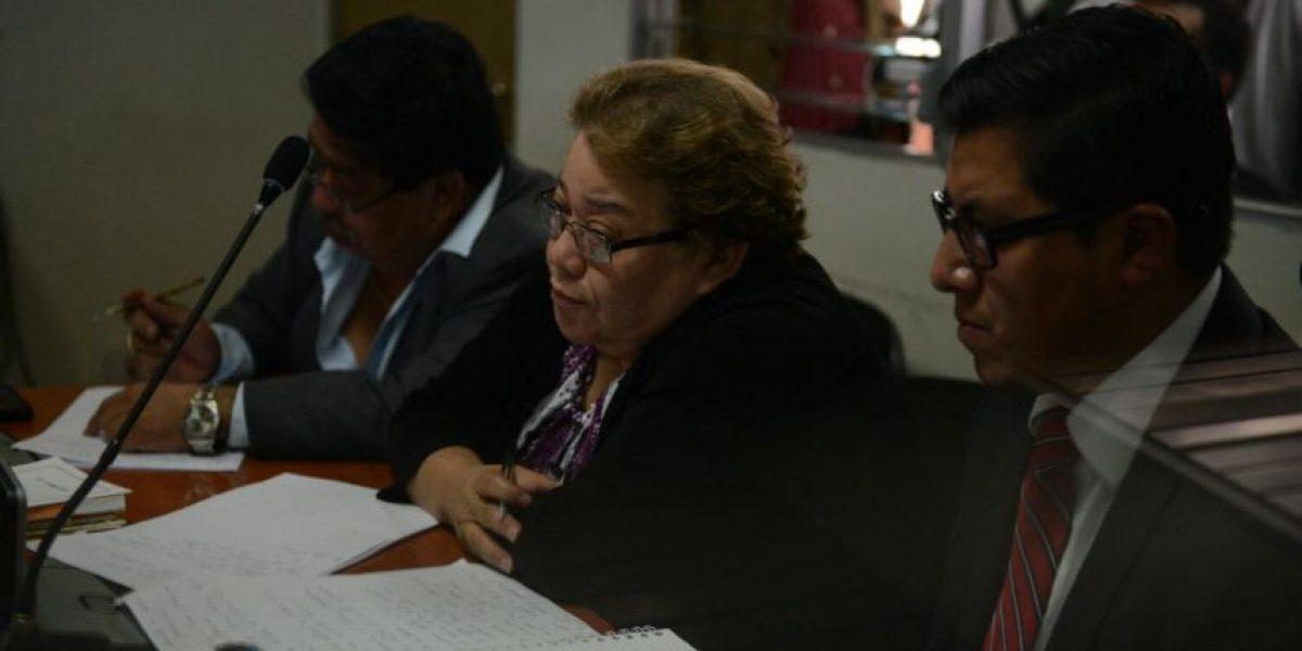 Juezas Reinoso y Sierra pasaron la noche en cuartel de Matamoros