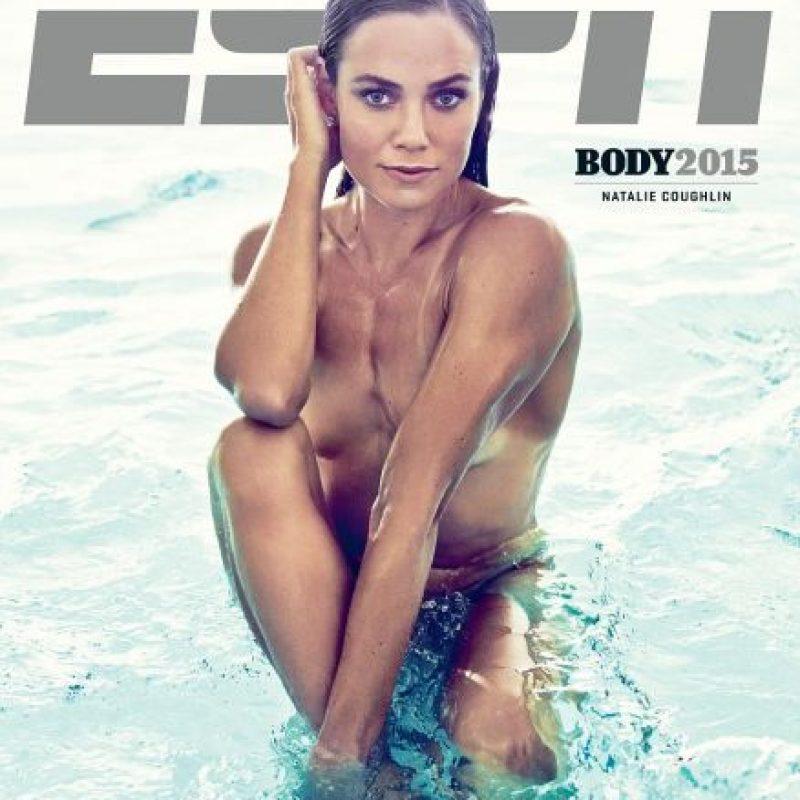 Natalie Coughlin. Nadadora estadounidense Foto:ESPN