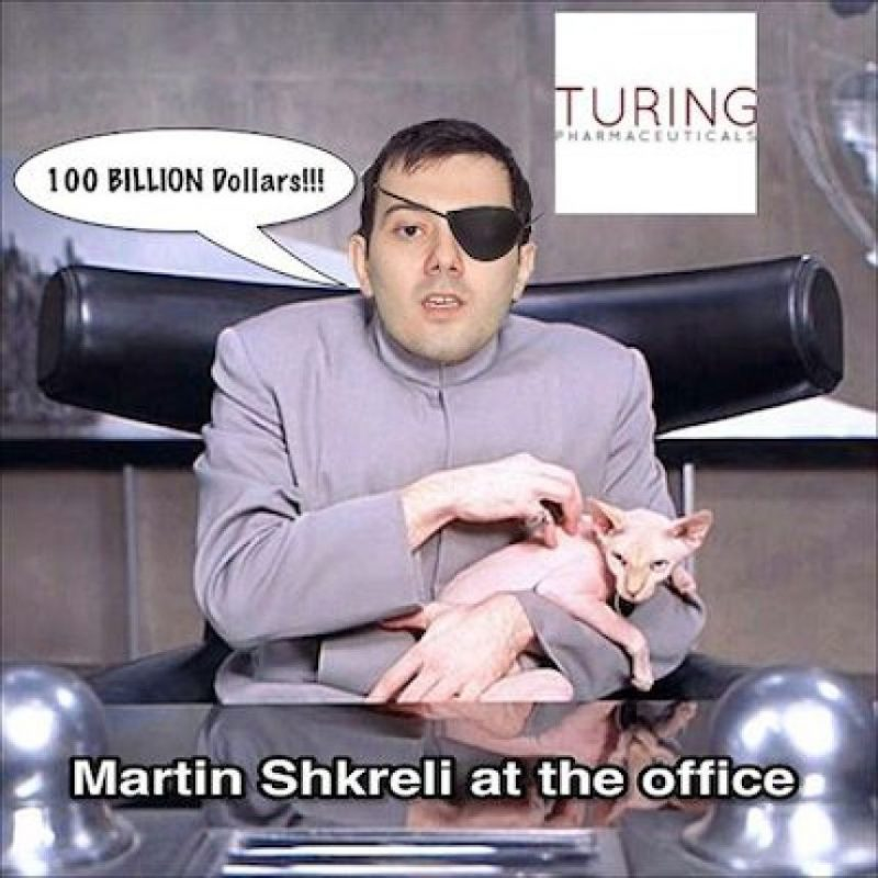 """Martin Shkreli en la oficina"" Foto:Instagram.com"