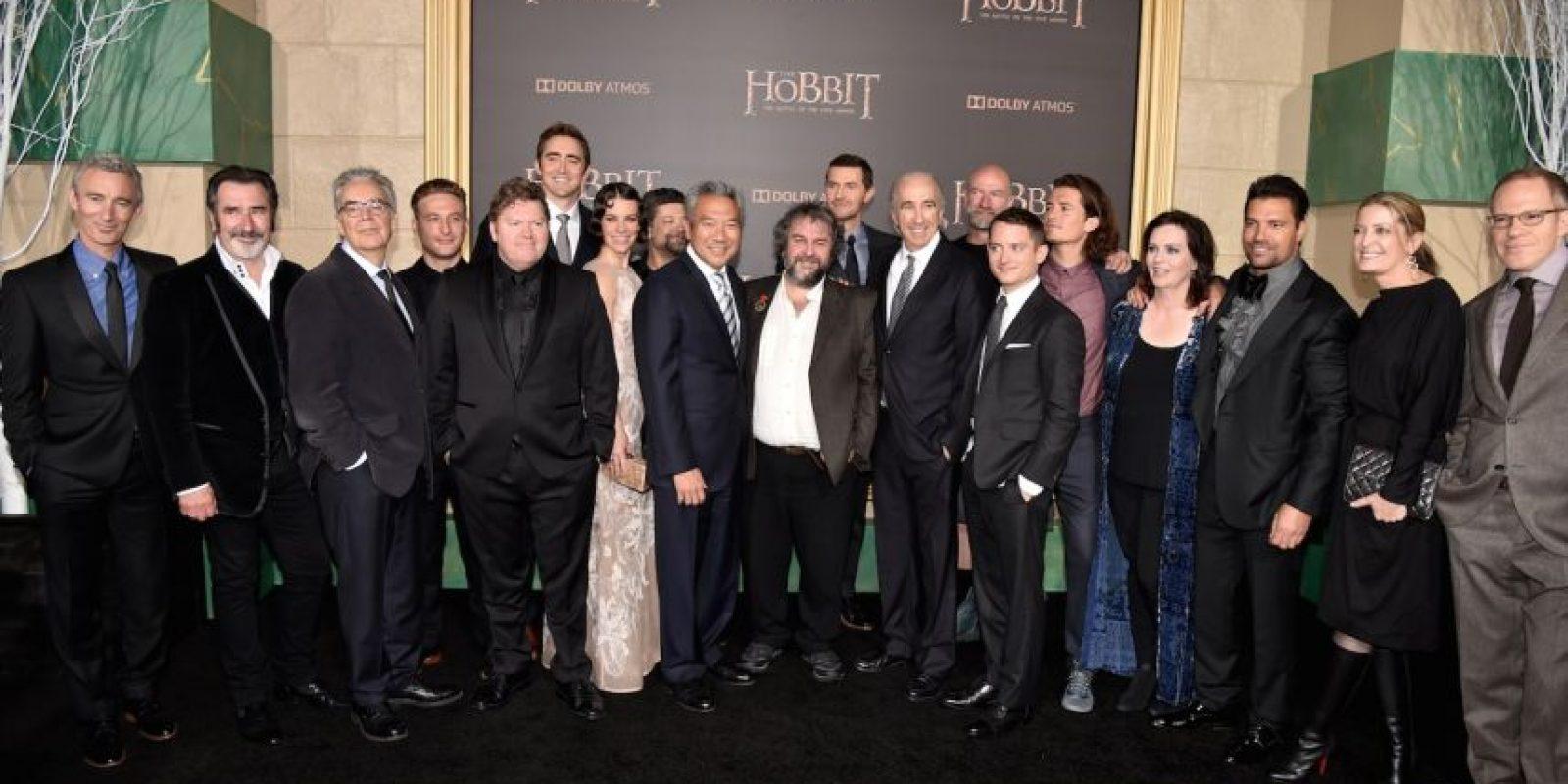 """En 2012 se unió al elenco de la trilogía """"El Hobbit"""" Foto:Getty Images"""