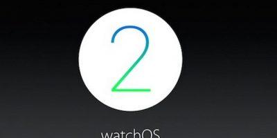 El nuevo sistema operativo para el Apple Watch ya está disponible. Foto:Apple
