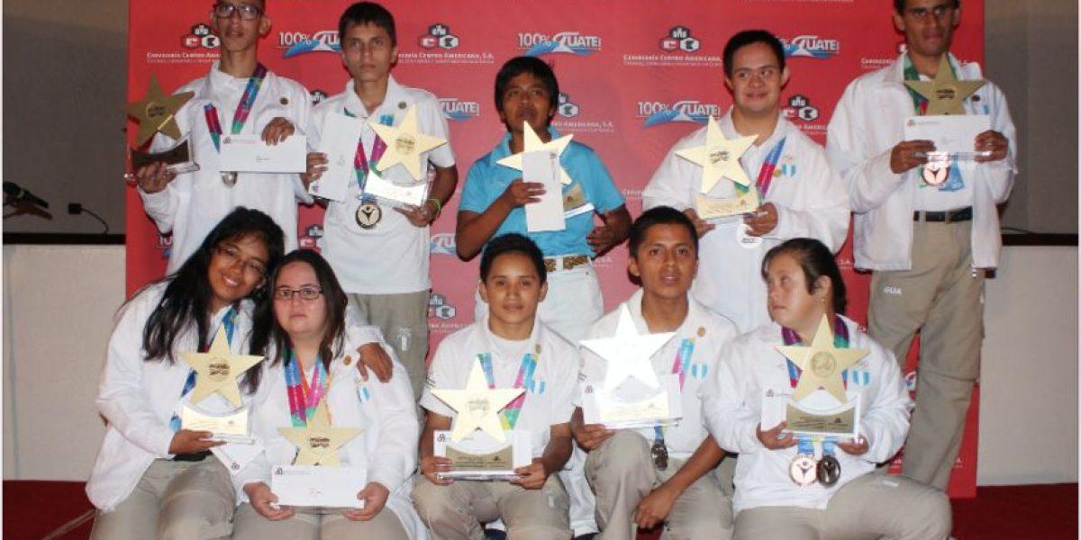 Merecido homenaje a los medallistas de Olimpiadas Especiales