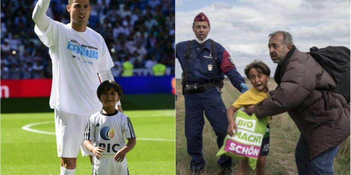 VIDEO. Niño refugiado comienza una nueva vida y Cristiano Ronaldo es protagonista