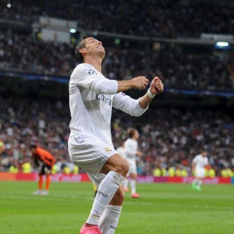 El crack portugués le marcó cinco goles al Espanyol, el 12 de septiembre pasado Foto:Getty Images