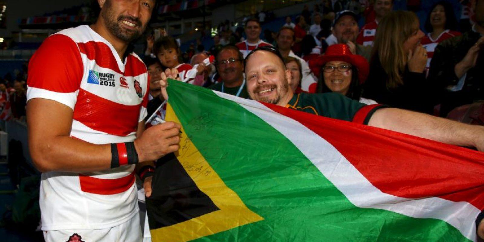Las charlas funcionaron y los nipones vencieron al favorito Sudáfrica Foto:Getty Images