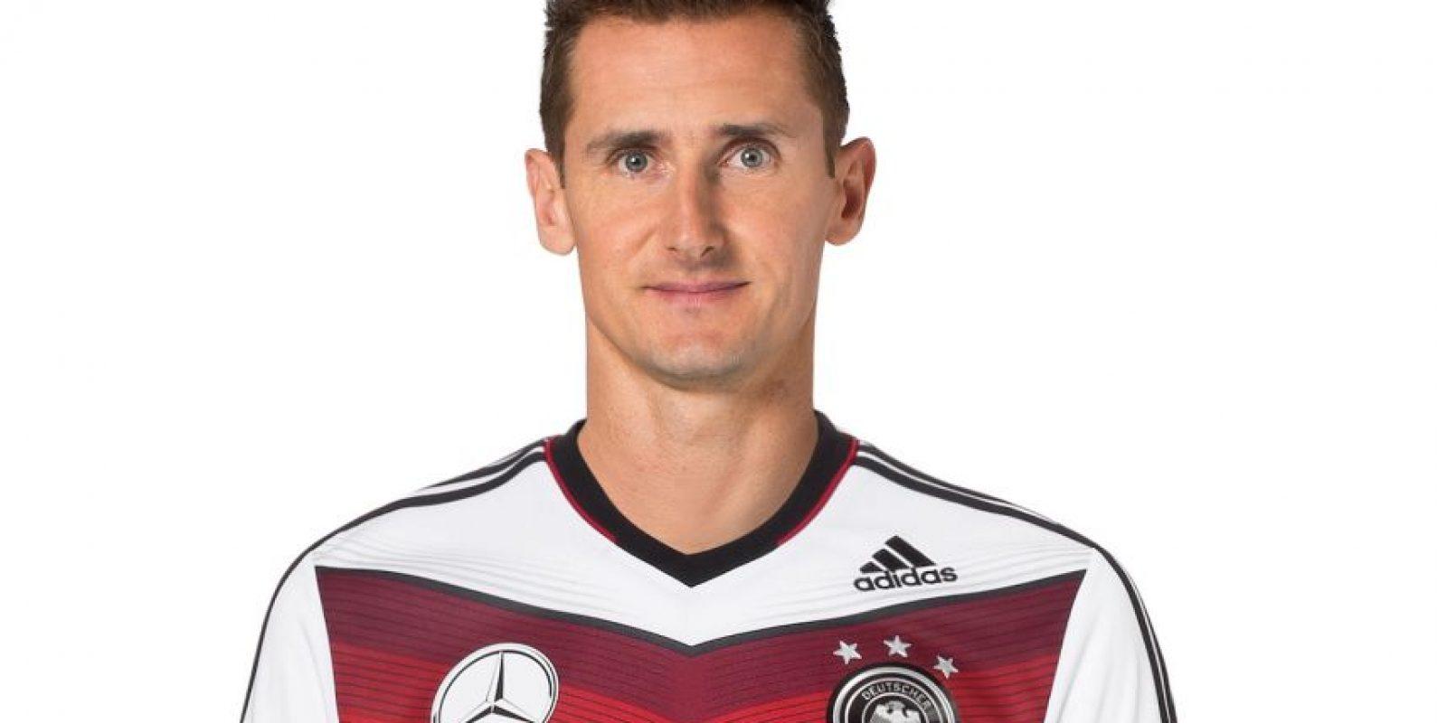 El alemán marcó cinco dianas en 2013, en la goleada 6-0 del Lazio sobre el Bologna Foto:Getty Images