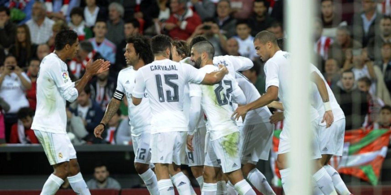 El Madrid aprovechó el doblete de Benzema para quedarse con los tres puntos. Foto:AFP