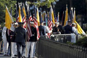 Y dará un discurso ante el Congreso de Estados Unidos en el Capitolio Foto:AFP