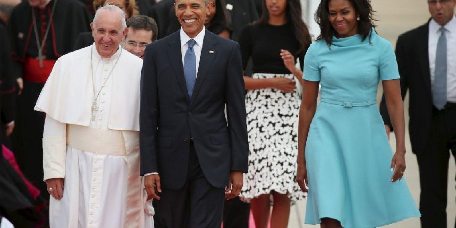 También oficiará una misa en el Madison Square Garden Foto:AFP