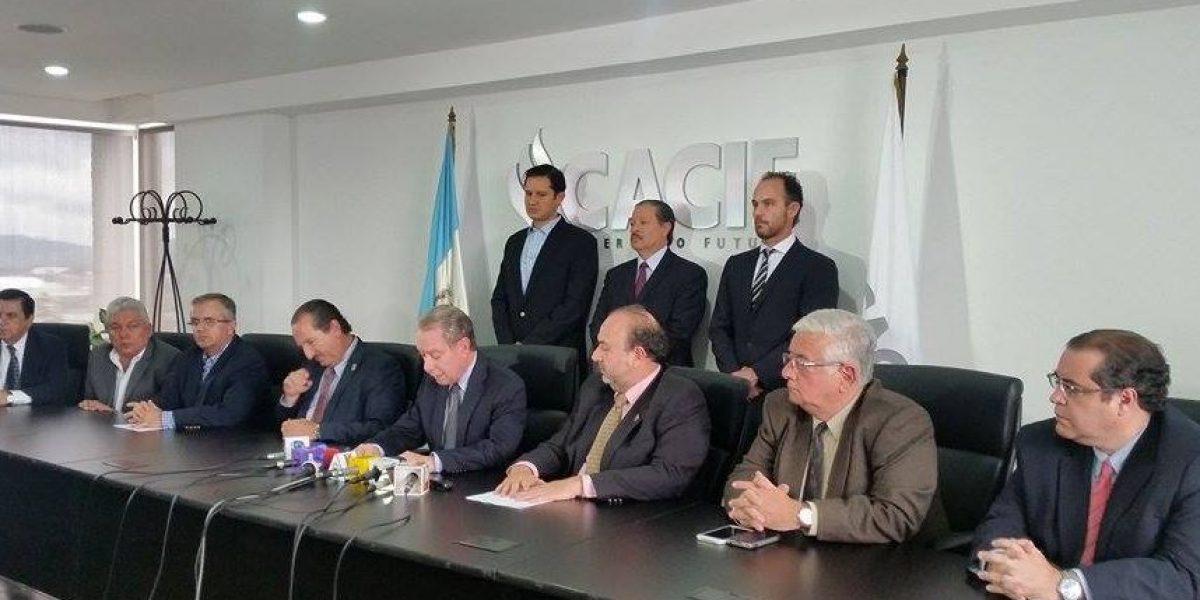 CACIF critica proyecto de Presupuesto 2016
