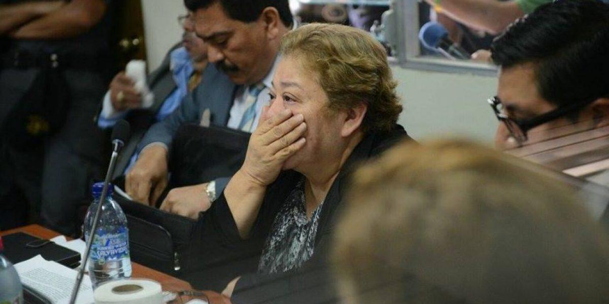 Jueza Marta Sierra queda ligada a proceso penal por bufete de la impunidad