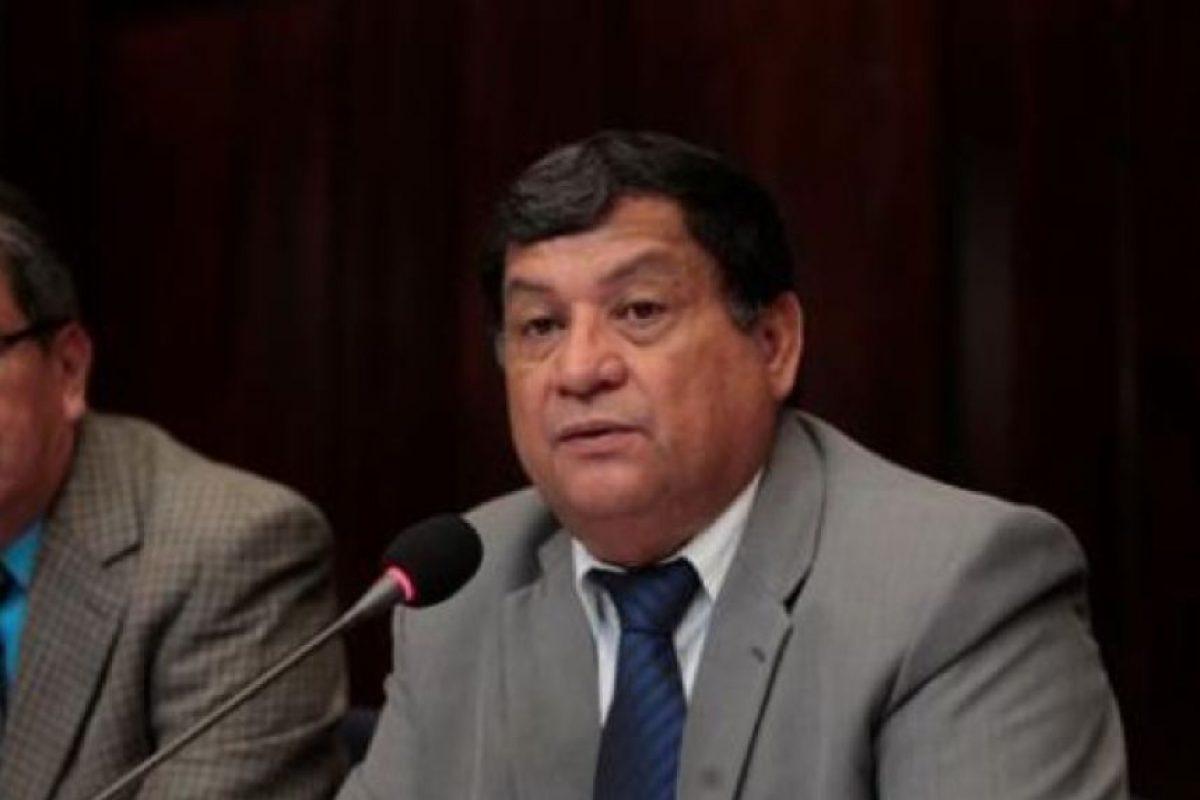 Baudilio Hichos, de Líder Foto:Publinews