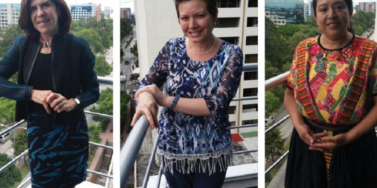 3 exitosas conferencistas del Congreso de Mujeres Líderes en Guatemala