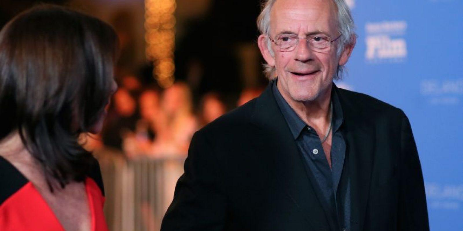 """Ahora el actor tiene 76 años y es mejor conocido como el """"Dr. Emmet Brown"""" de la trilogía """"Volver al Futuro"""". Foto:Getty Images"""