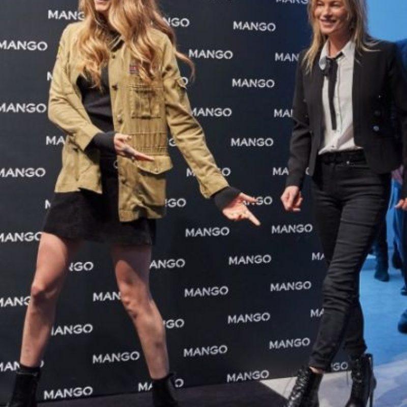 Las modelos viajaron a Milán para inaugurar la nueva tienda de la firma Mango. Foto:vía instagram.com/mango