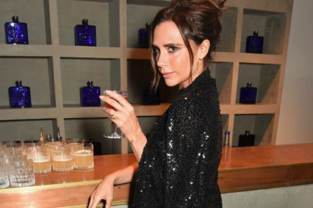 Victoria presumió su barra de bebidas