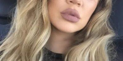 Khloé Kardashian experimentó con un nuevo color de cabello