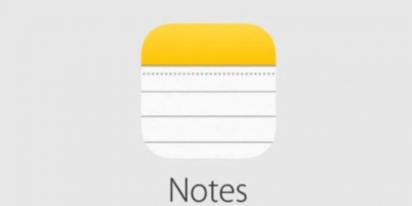 Notes será más ordenado y podrán crear carpetas de sus apuntes. Foto:Apple