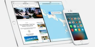 Al menos el 50% de los dispositivos Apple compatibles ya tienen iOS 9. Foto:Apple