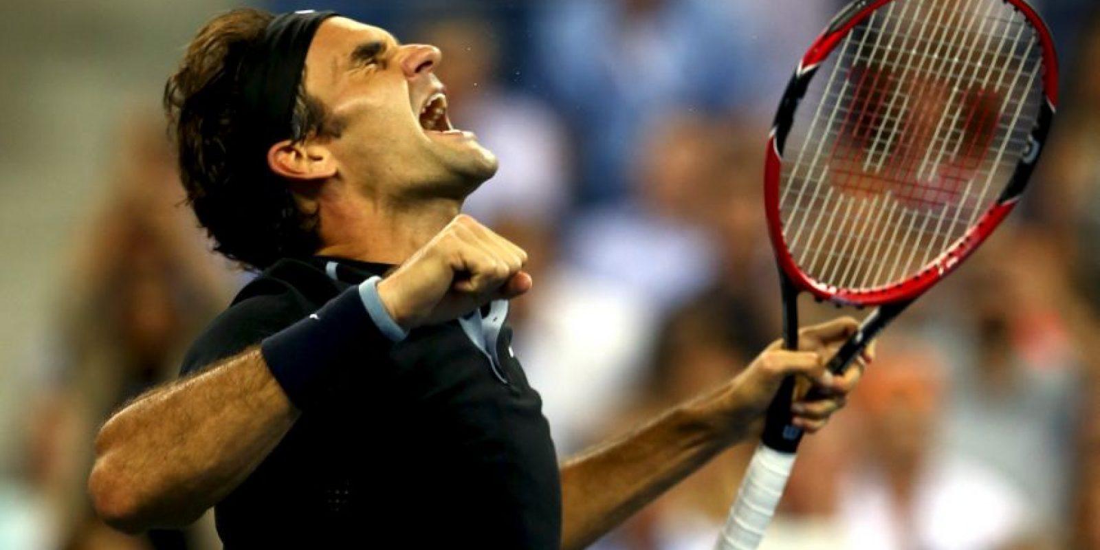 Posee el récord de títulos masculinos de Grand Slam con 17 trofeos. Foto:Getty Images