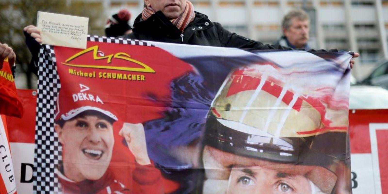 El 16 de junio de 2014, el alemán salió de coma y comenzó su recuperación. Foto:Getty Images