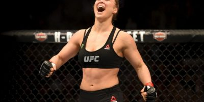 Ronda Rousey es la campeona invicta de la UFC. Foto:Getty Images