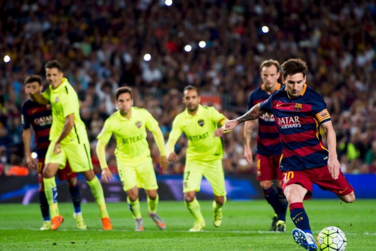 2. Liga BBVA (España): 70 euros (78.23 dólares). Foto:Getty Images