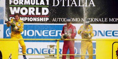 Con esta escudería ganó sus primeros dos campeonatos del mundo, en 1994 y 1995. Foto:Getty Images