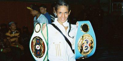 """6. Amanda Serrano. La boxeadora puertorriqueña la retó a una pelea. """"Podemos pelear en el patio de su casa, si ella quiere"""". Foto:Wikimedia"""