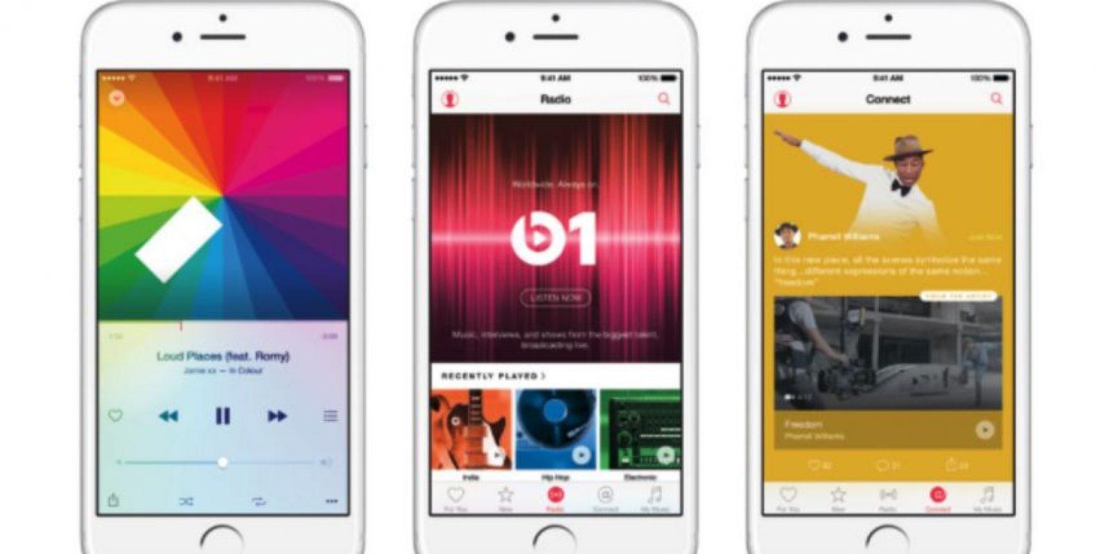 """4) """"Streaming"""" de video y sin anuncios Foto:Apple"""